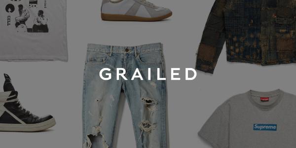 Grailed Affiliate Program Landing Page