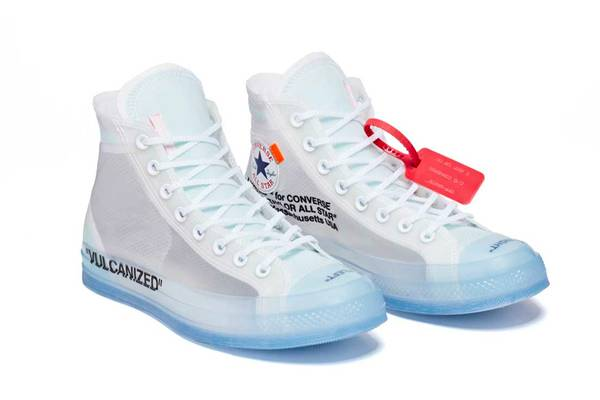 Off-White x Converse Chuck Taylor Drops This Weekend