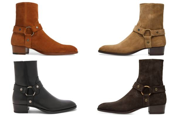 Classic or Trash: Saint Laurent Paris Wyatt Harness Boot