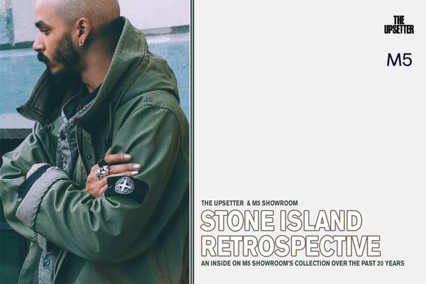 The Upsetter and M5 Present: Stone Island Retrospective for Grailed