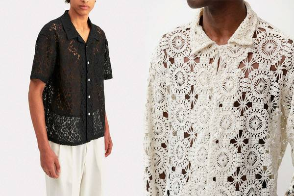 Is the Lace Shirt the Post-Lockdown Piece of the Summer?