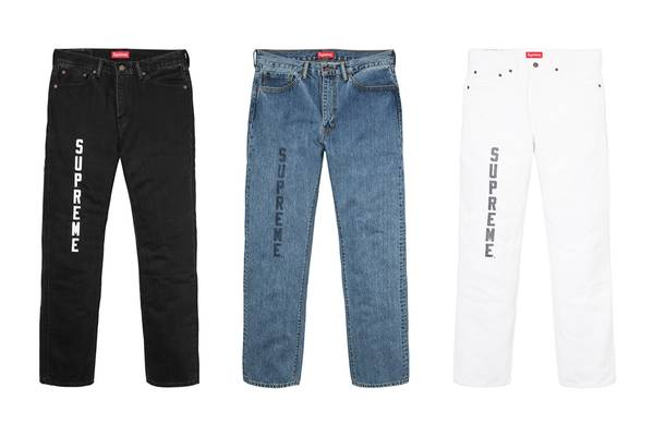 Supreme and Levi's Reveal S/S 17 Collaboration