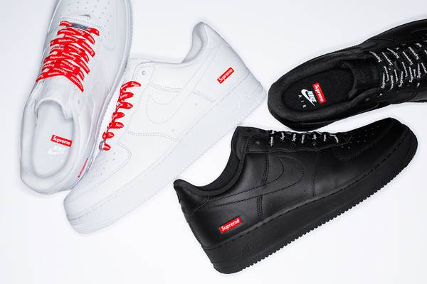 Supreme x Nike Air Force 1 Drops March 5