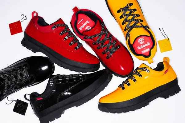 Supreme Reworks Timberland's Euro Hiker Boot for Spring/Summer 2020