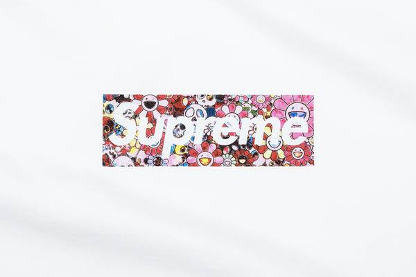 Supreme Teams With Takashi Murakami for COVID-19 Relief Box Logo Tee
