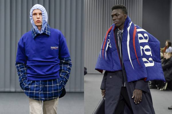 Balenciaga's F/W 17 Bernie Sanders-Inspired Collection Is Now Available to Pre-Order