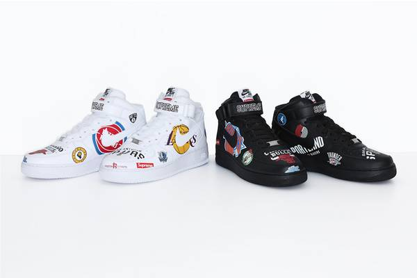 Here's the Complete Supreme x Nike NBA Collection