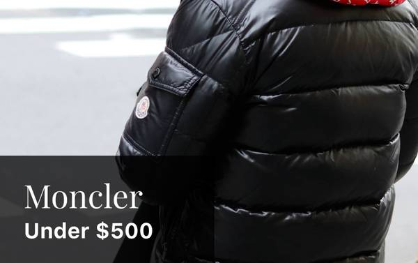 On Slopes or Streets: Moncler Outerwear Under $500