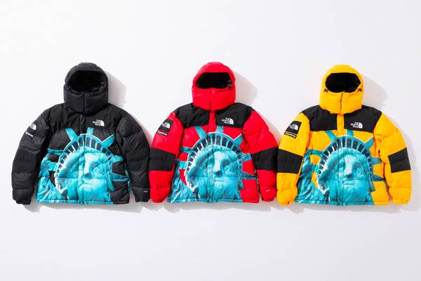 Supreme and The North Face Return With Statue of Liberty-Themed Collab