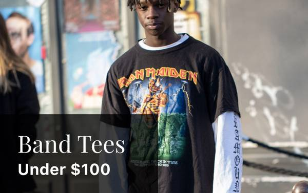 On-Stage Style: Band T-Shirts Under $100
