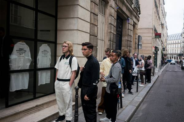 "Inside Grailed Paris: ""No Appointments Necessary"""