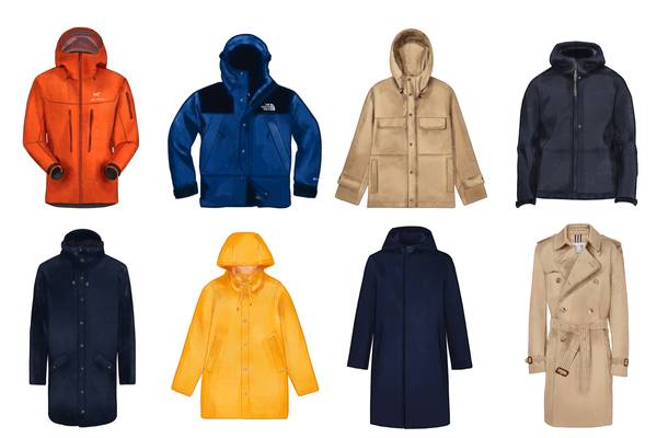 Our Favorite Rain Jackets Right Now