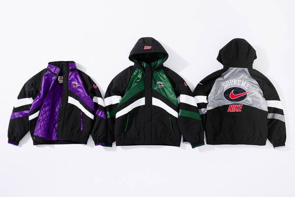 Supreme and Nike Announce New Apparel Collab