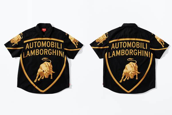Supreme and Lamborghini Link Up for Spring/Summer 2020 Collaboration