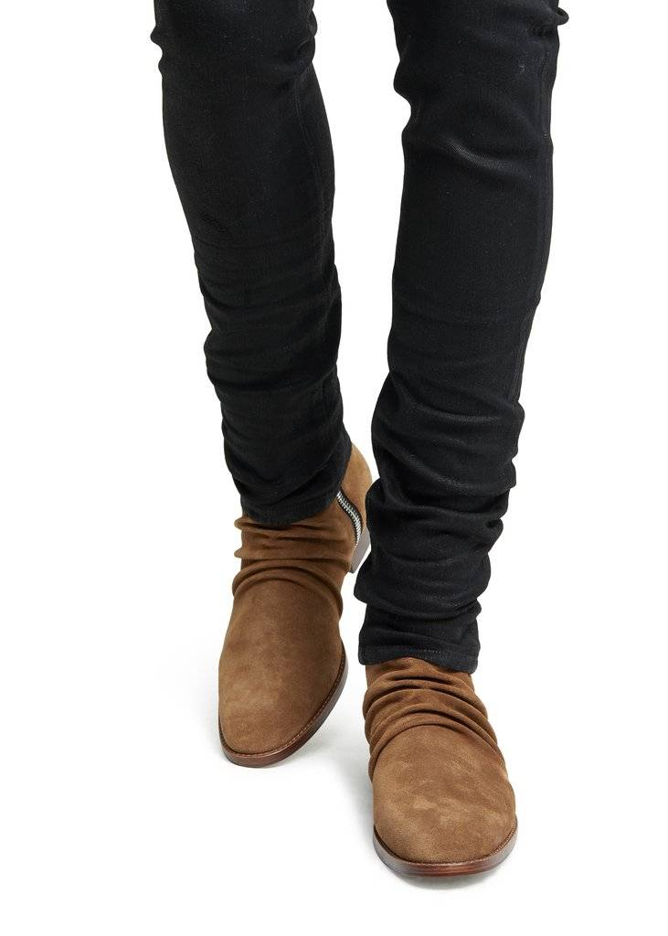 skinny stack boots