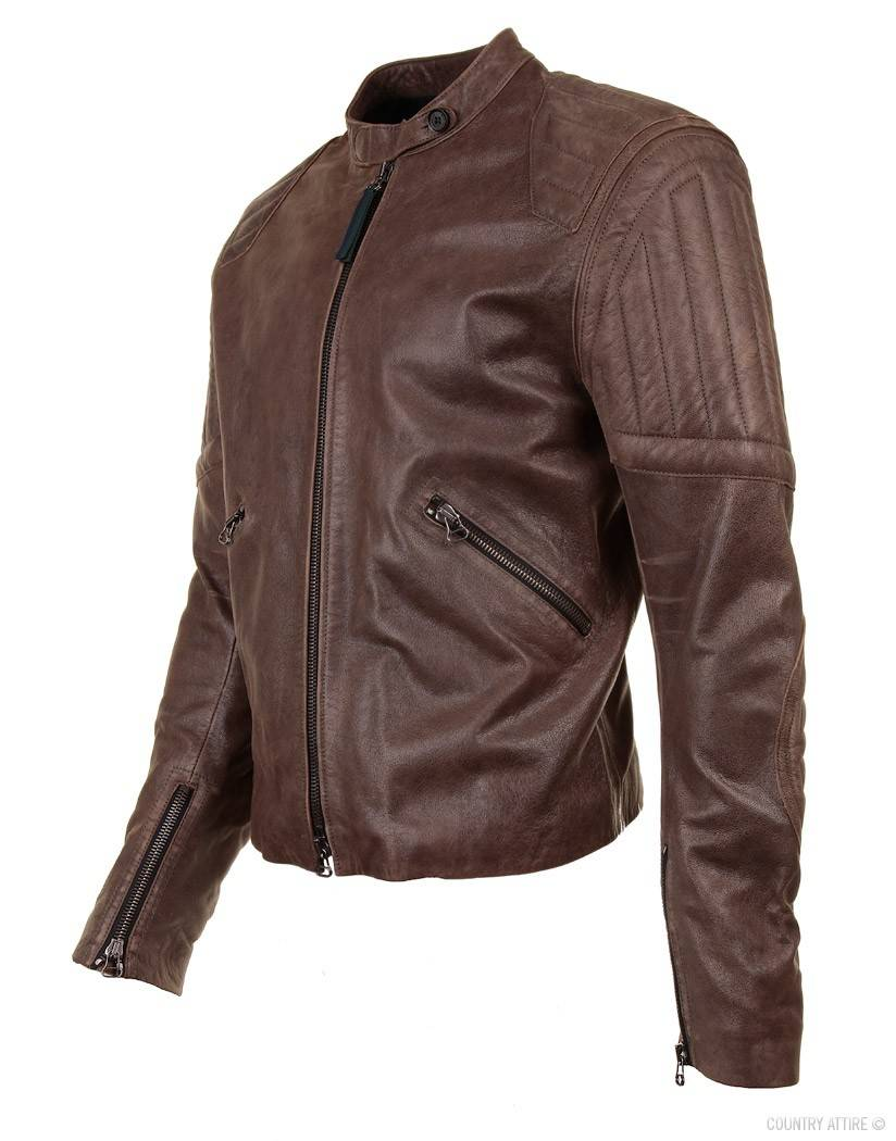 Belstaff GSR Brough Vintage Quilted Racing Jacket Size m - Leather ... : quilted racing jacket - Adamdwight.com