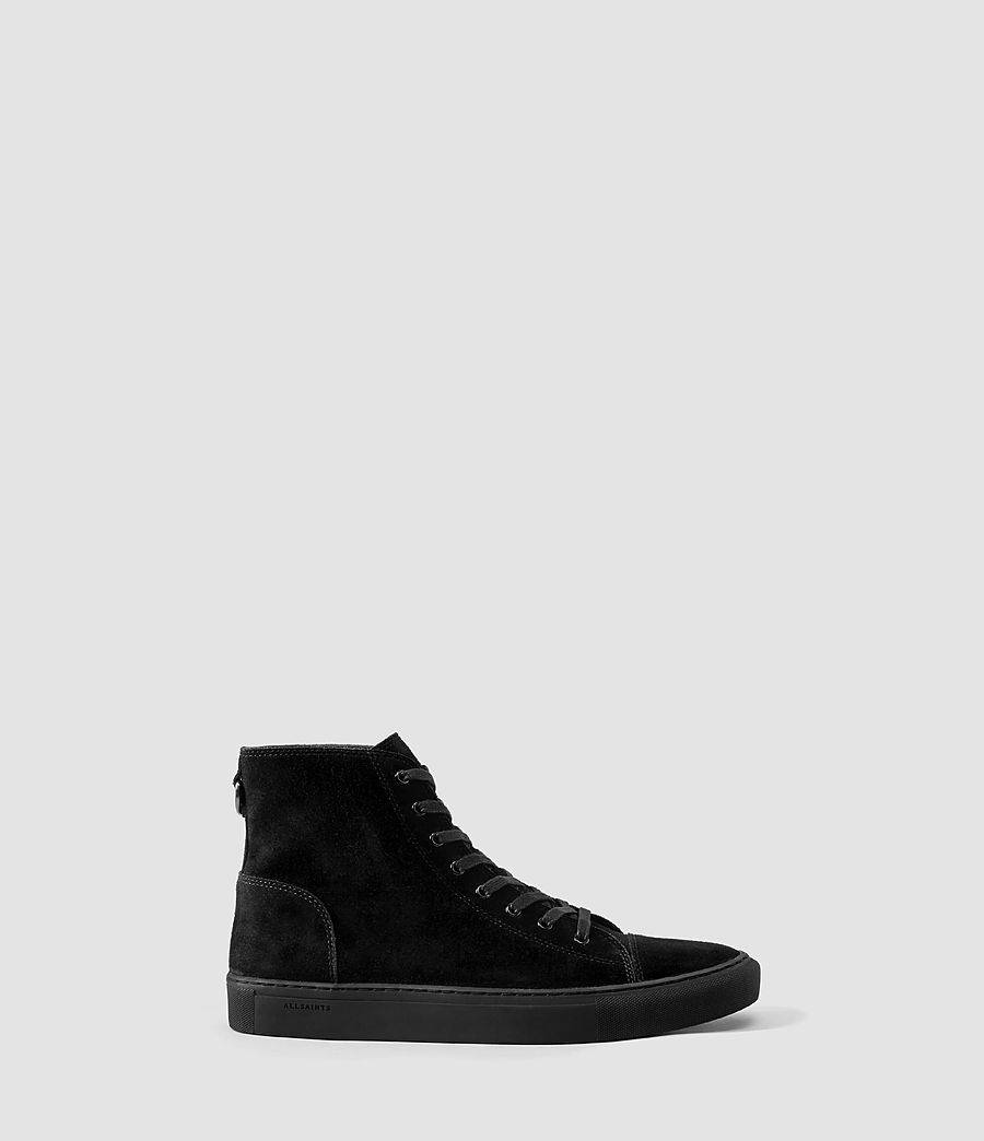 Sale Hot Sale AllSaints Leather High-Top Sneakers Buy Cheap Good Selling mwpT9Zc
