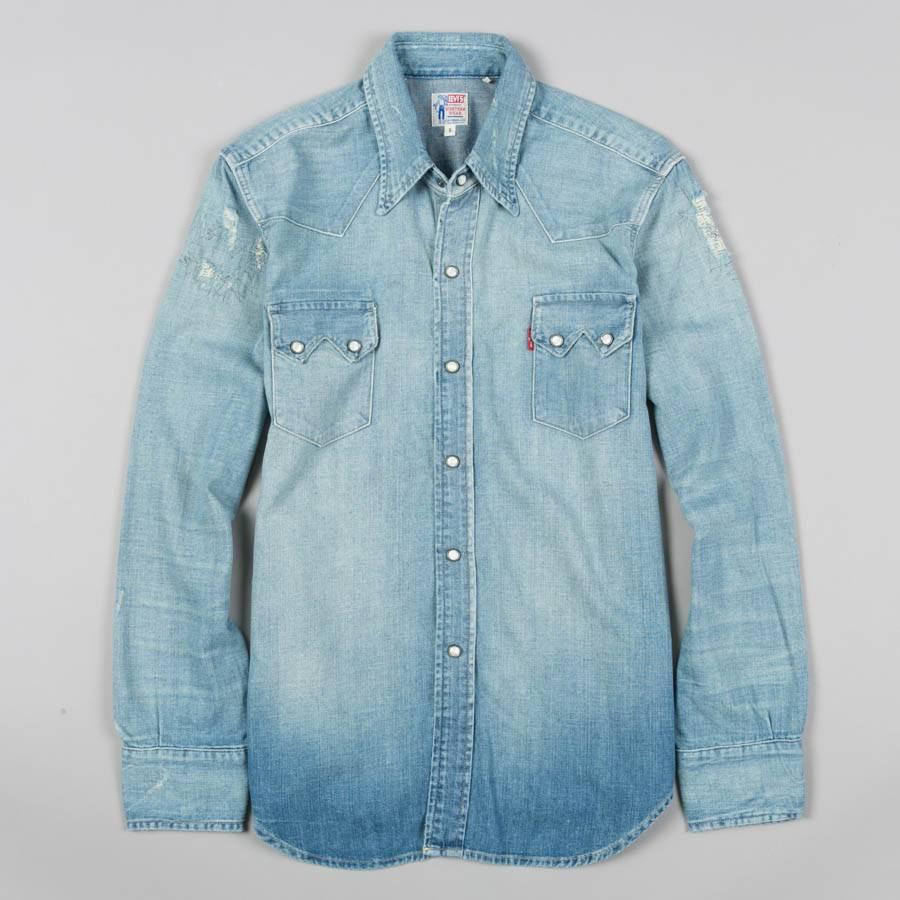 0be1cf4921b3 Levis Vintage Clothing 1955 Sawtooth Denim Shirt - Nils Stucki ...
