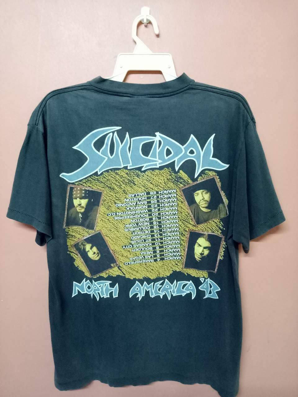 Vintage vintage 90s suicidal tendencies the art of rebellion album vintage vintage 90s suicidal tendencies the art of rebellion album crossover thrash skate punk usa promo thecheapjerseys Images
