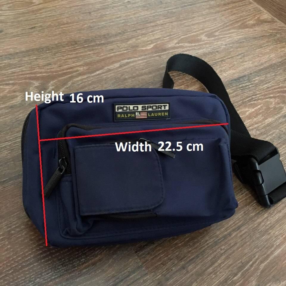 51ae460b8b04 ... sale ralph lauren sport polo sport by ralph lauren bum bag size one  size 8 fa734