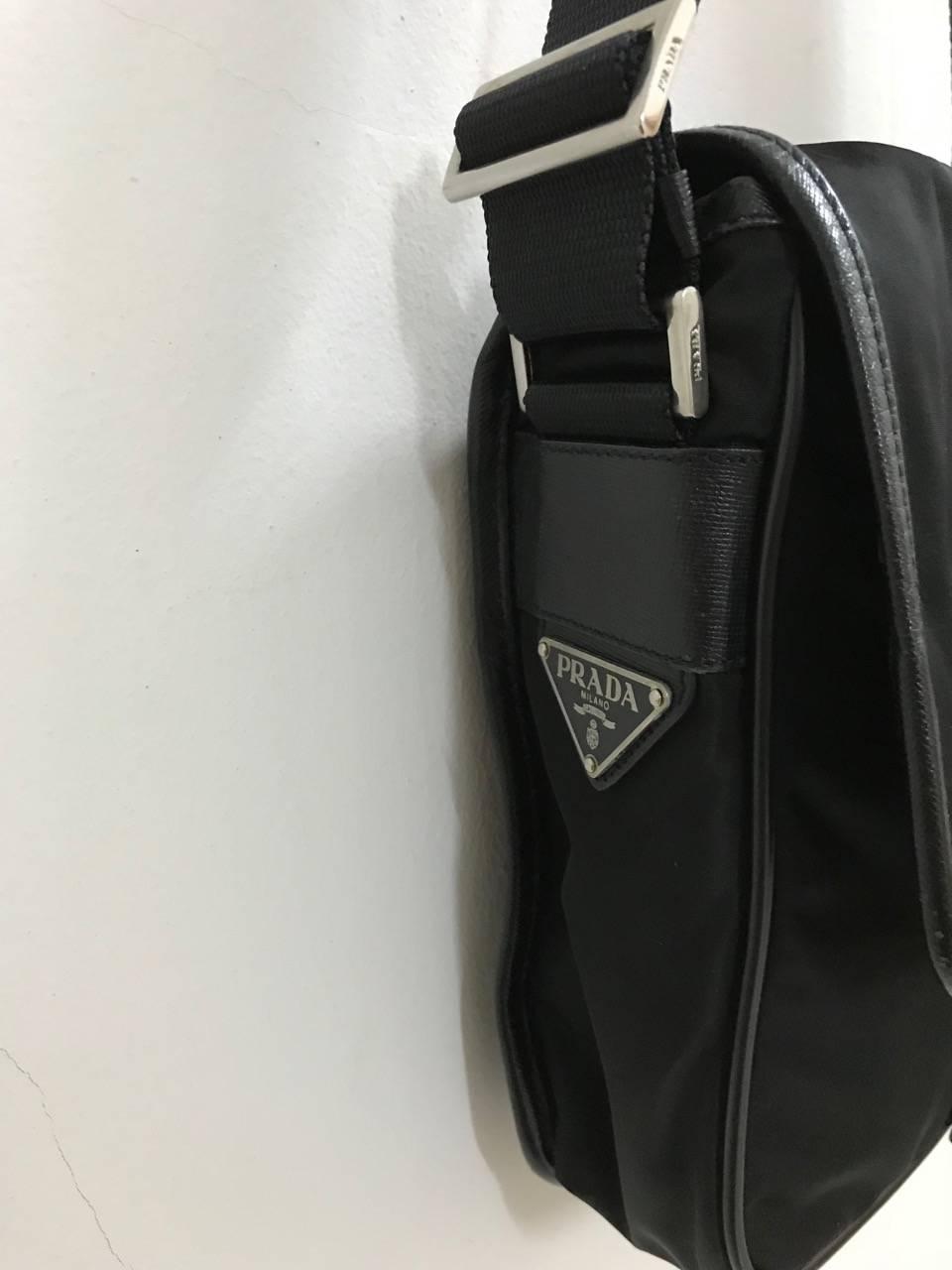 7e6e90e9471b ... store prada prada nylon canvas shoulder bag size one size 11 d4a3c e0e5a