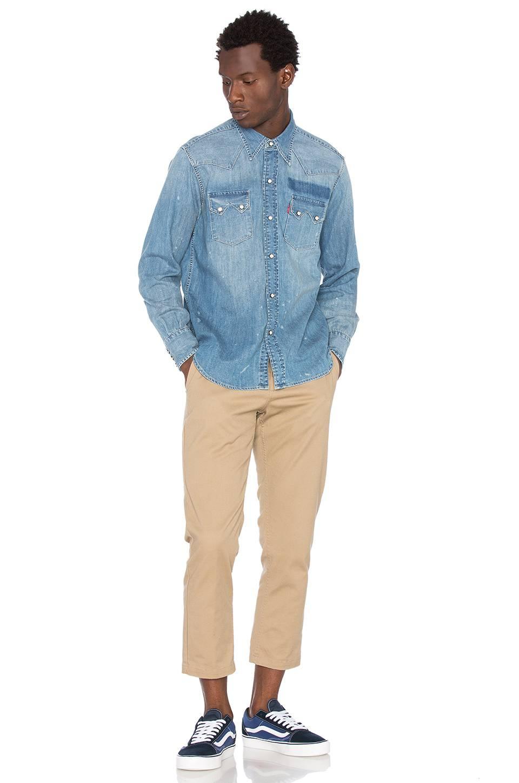 7aa9b7ca90 Levis Vintage Clothing Sawtooth Denim Shirt - BCD Tofu House
