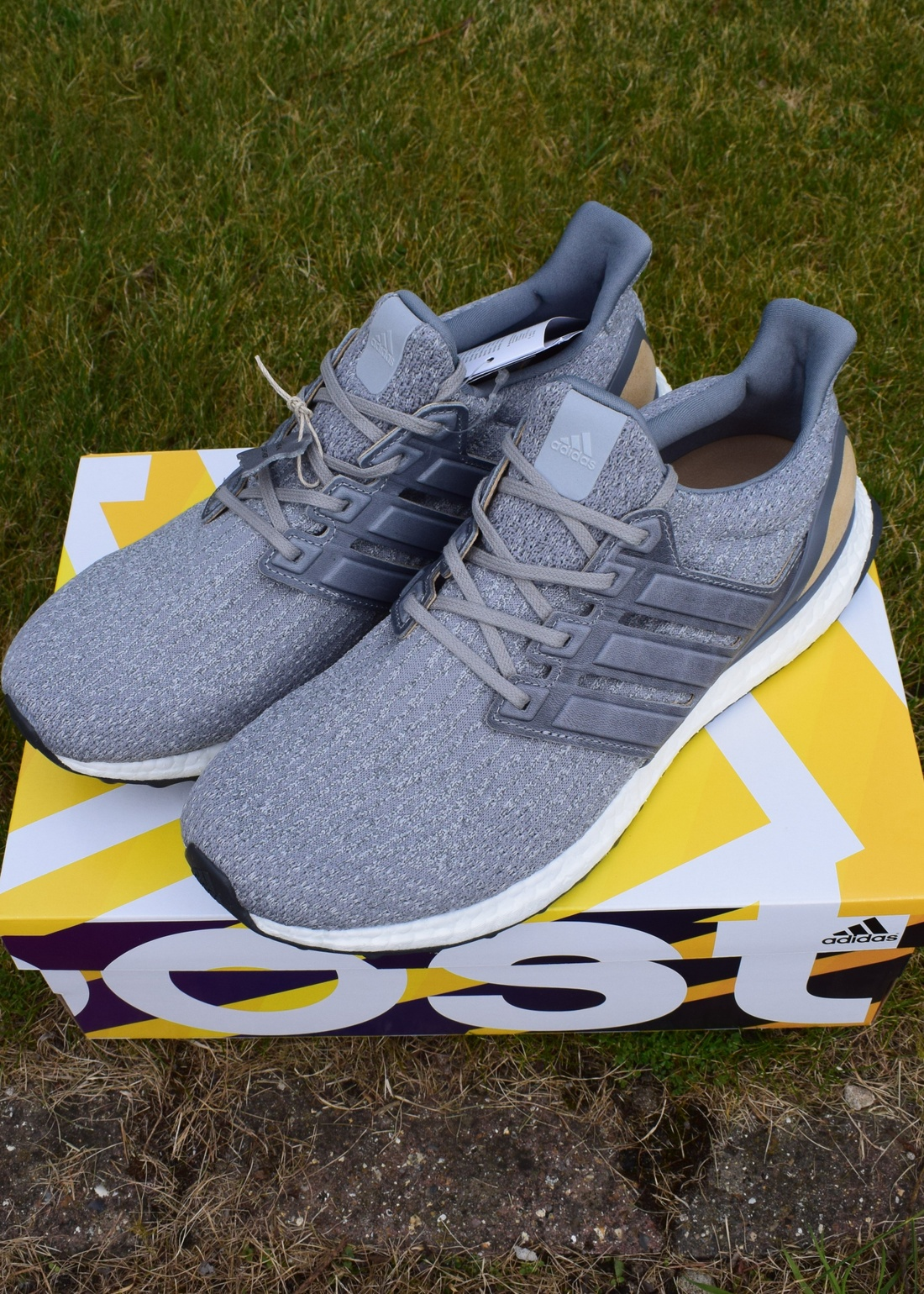 Adidas Ultra Boost M ESM LTD Mystery Gray 3.0 Dark Wolf Black