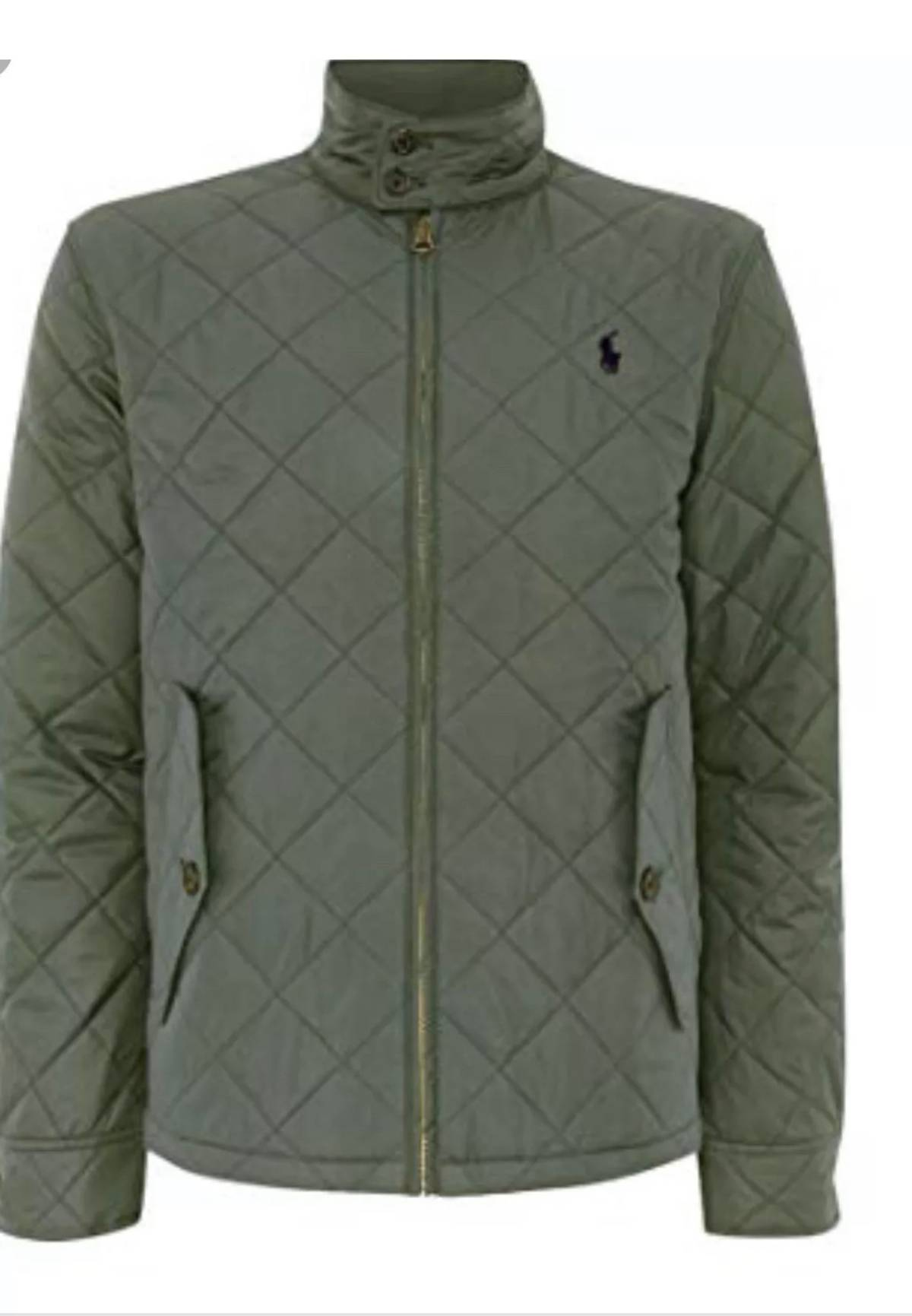 Jacket Lauren Bomber Barracuda Xl89 Polo Olive295 Size Ralph Quilted WdCoexQBr