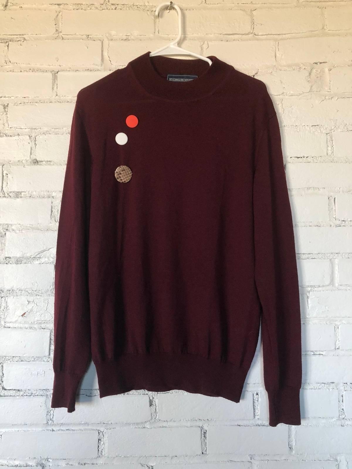 Size Mock Halfnight Sweaters Neck Sweater M Leflufy Devon O6XwR