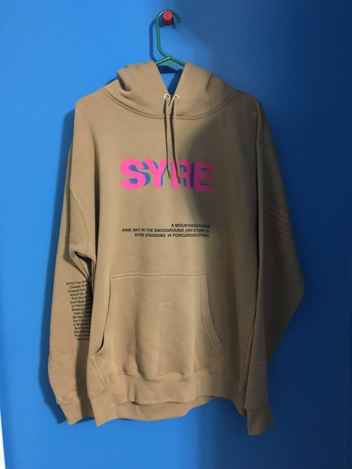 msftsrep syre tour hoodie size l