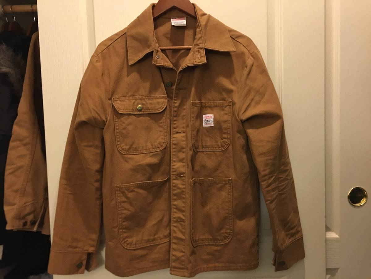 Pointer Chore Coat Size M Light Jackets For Sale Grailed
