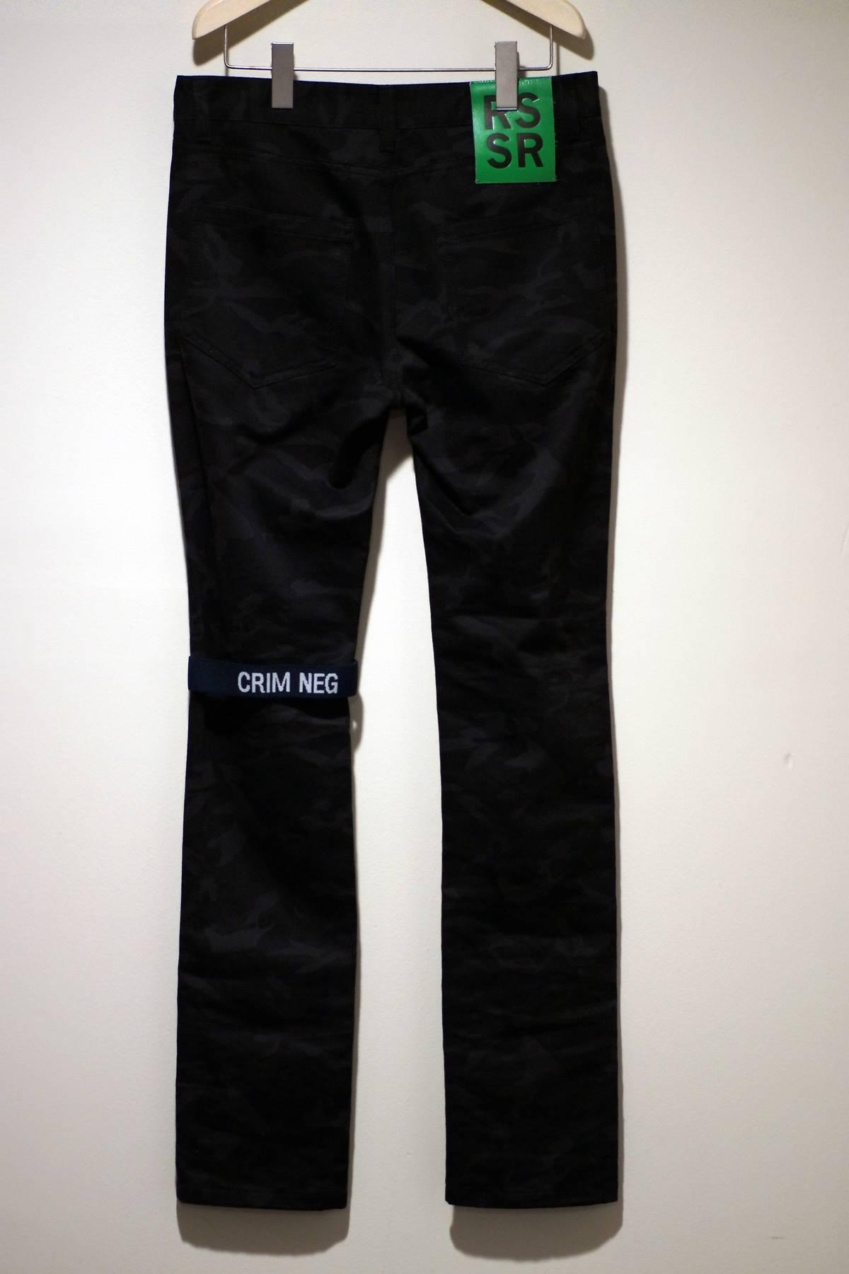 raf simons 39 crim neg 39 skinny jeans size 30 denim for