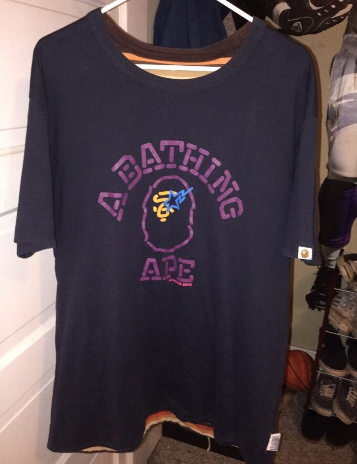Bape Rare Reversible T Size Xl Short Sleeve T Shirts For
