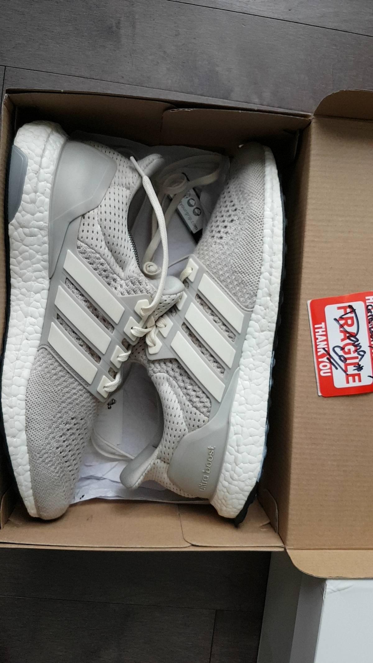 18d715de8e0 Adidas ×. Ultra Boost 1.0 Cream Chalk
