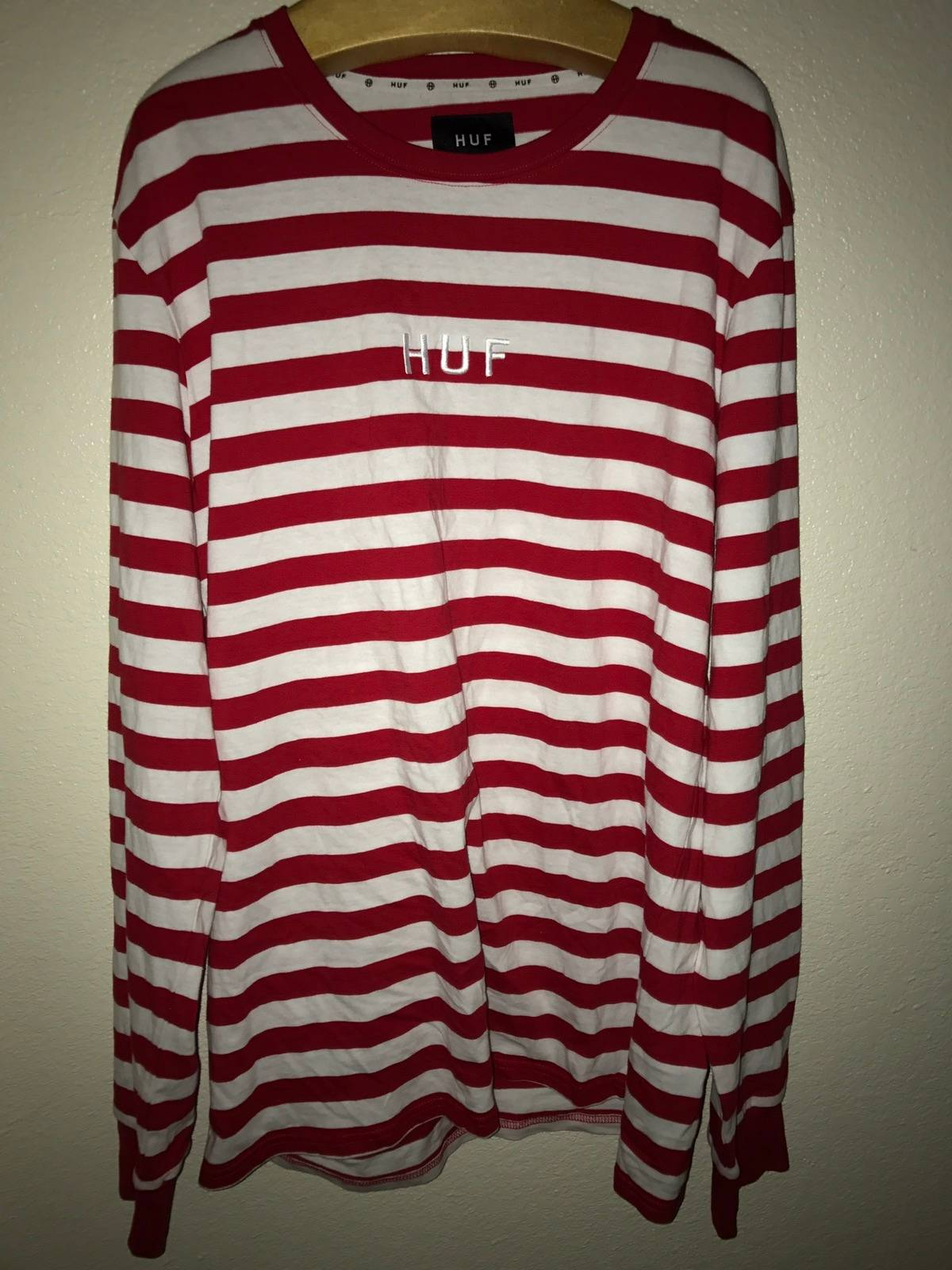 4fe7610c83 Huf HUF Long Sleeve Striped Size l - Long Sleeve T-Shirts for Sale - Grailed