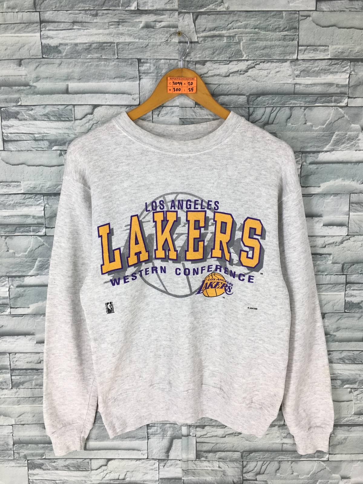 a592804de Vintage Lakers Los Angeles Pullover Jumper Medium Vintage 90 s ...