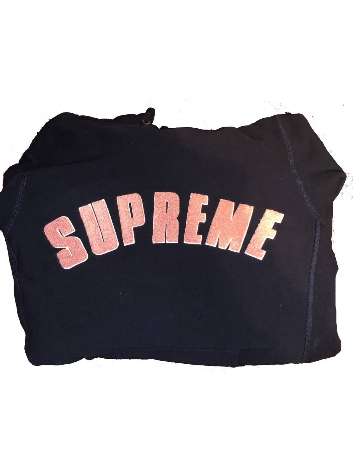 outlet store 3d8f2 eb022 Supreme ×. Supreme Chenille Arc Logo ...