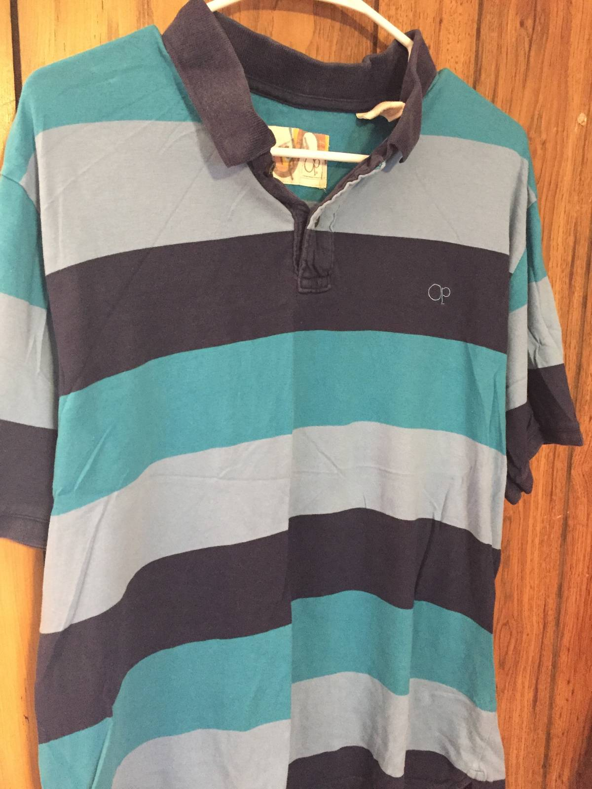 Opalona Op Polo Size Large Striped Size L Polos For Sale Grailed