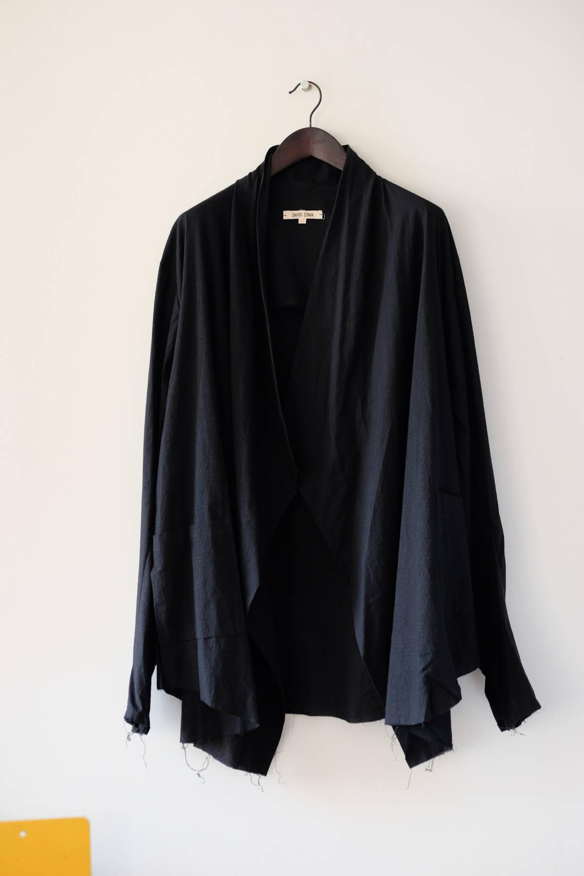 3985f3dcb92450 Damir Doma Double-wrap Shirt In Kimono Style | Grailed