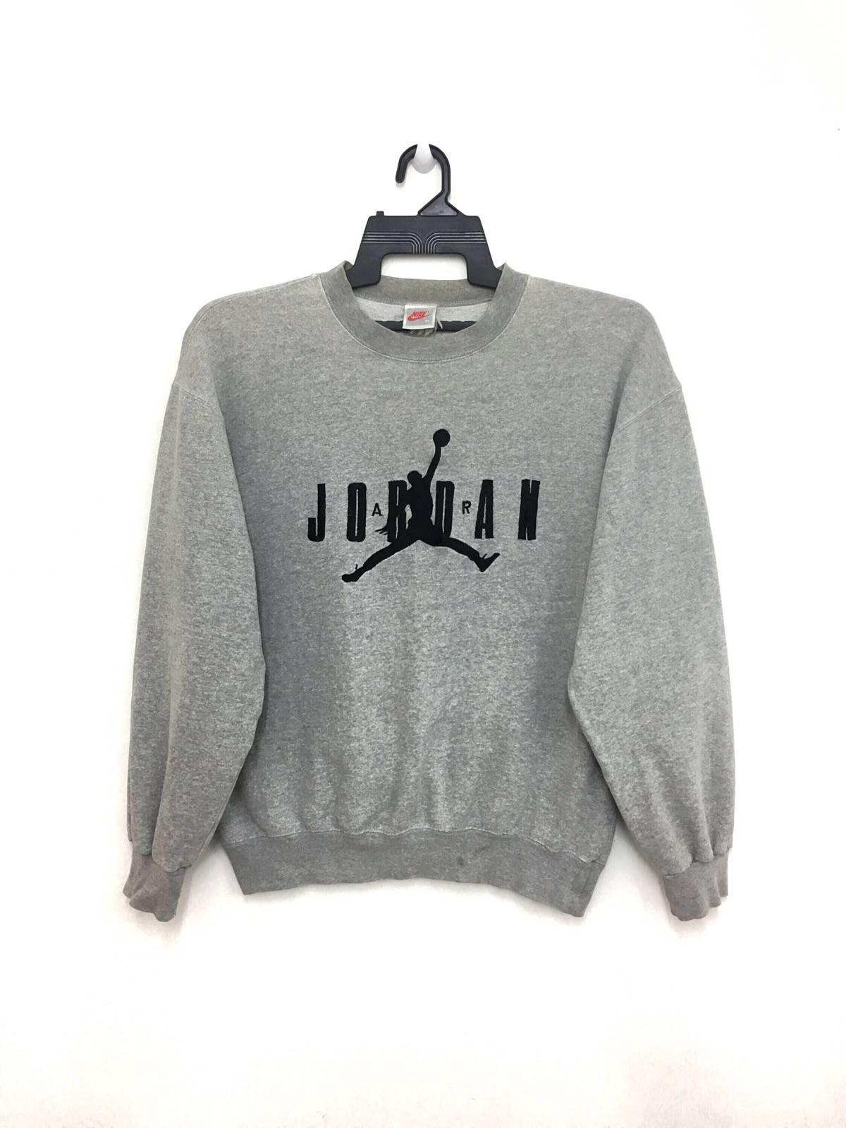 Nike Vintage 90 s Nike Air Jordan Sweatshirt Pullover Jumper ... 5ec25dba7e26