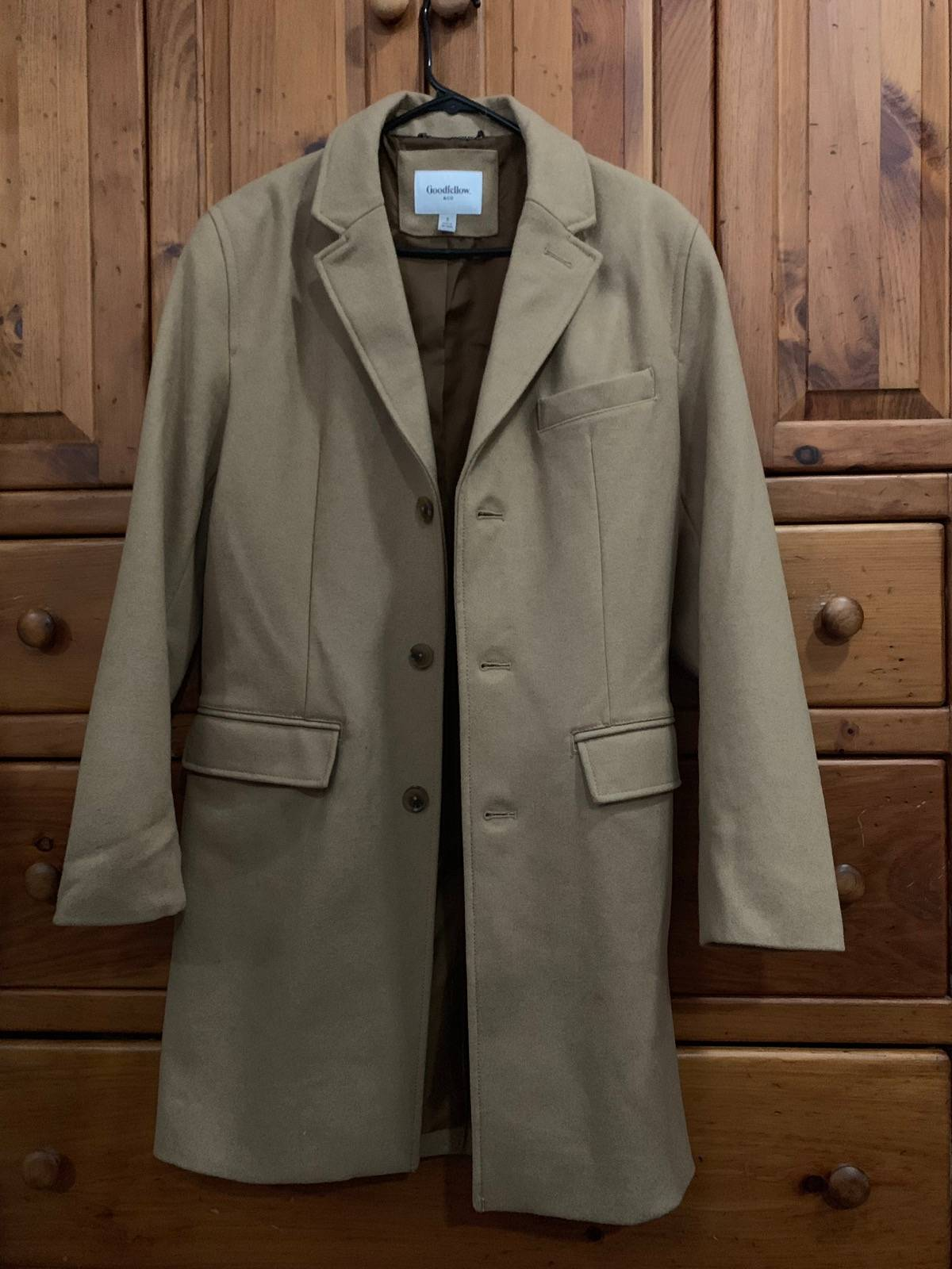 cheap price best price classic styles Target Basics Goodfellow & Co. Topcoat Size S $40