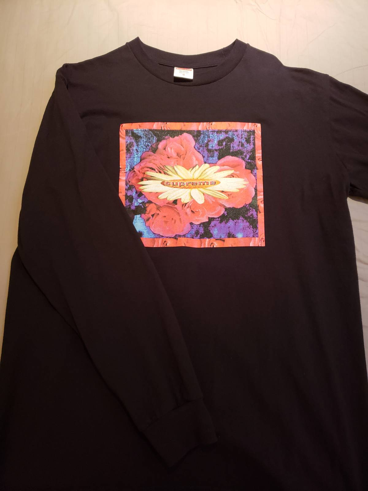4c632a930e15d Supreme Oversized Bloom L s Long Sleeve Tee