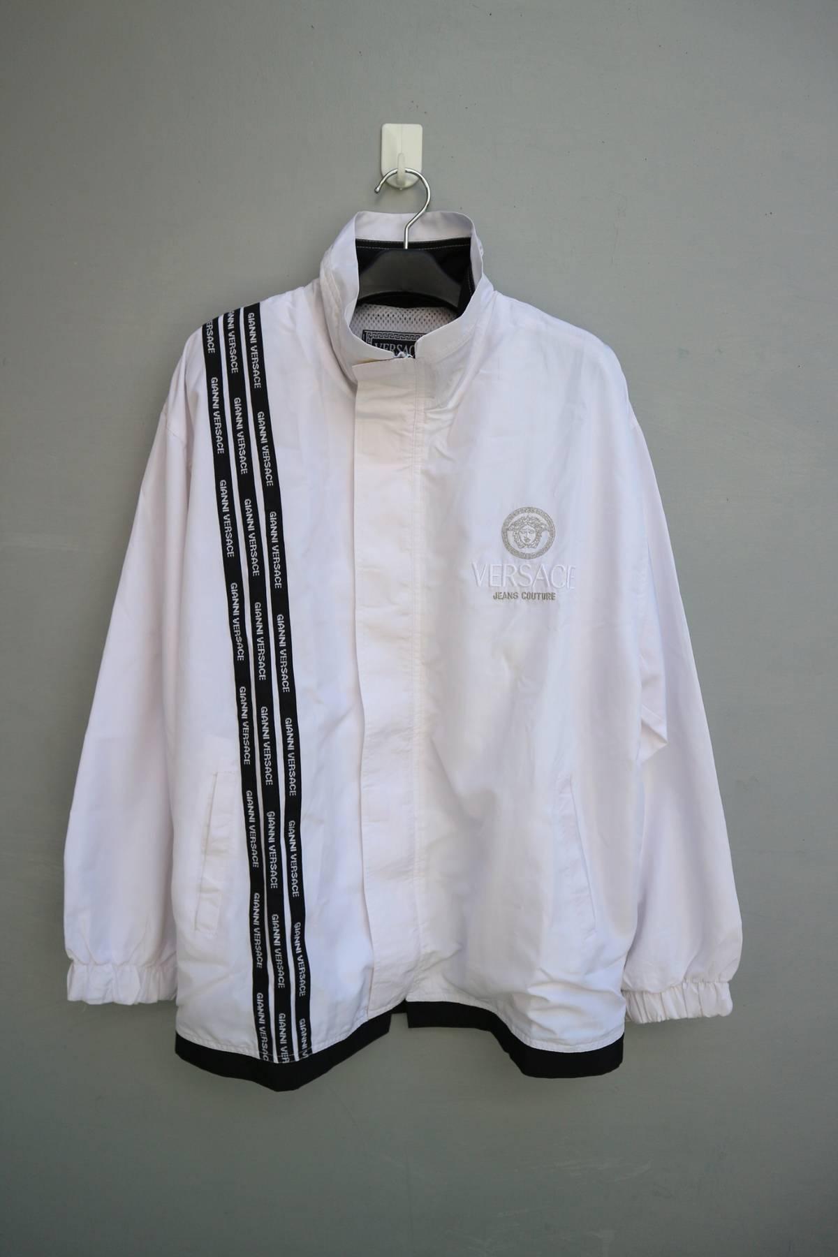 5f7a6278a43e Versace Jeans Couture. Versace jeans couture windbreaker jacket medusa head  embroidery. Size  US L   EU 52-54 ...