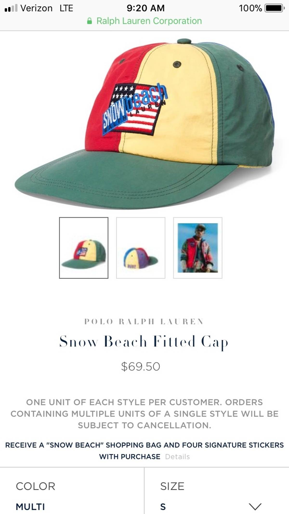 0e46f12ef7 Polo Ralph Lauren Polo Snow Beach Cap SIZE SMALL Size one size - Hats for  Sale - Grailed