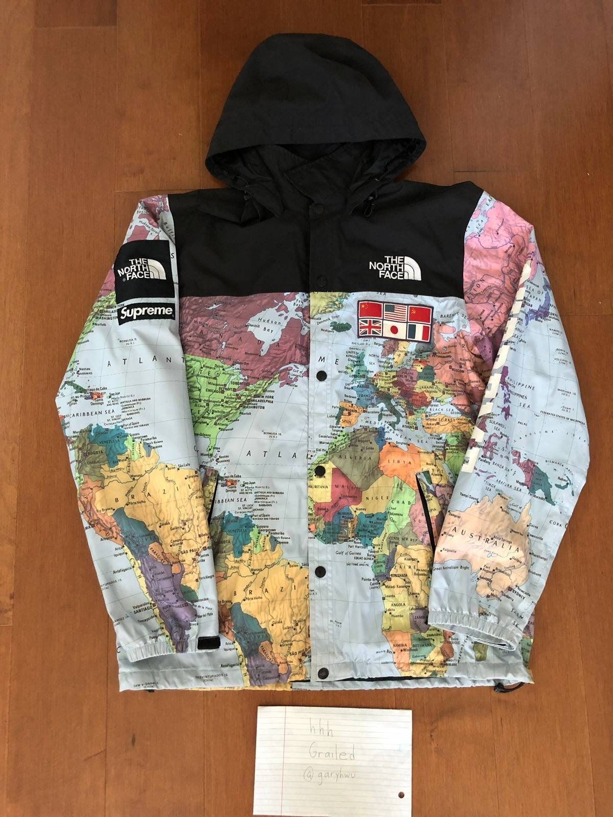 Supreme Expedition Map Coaches Jacket | Grailed