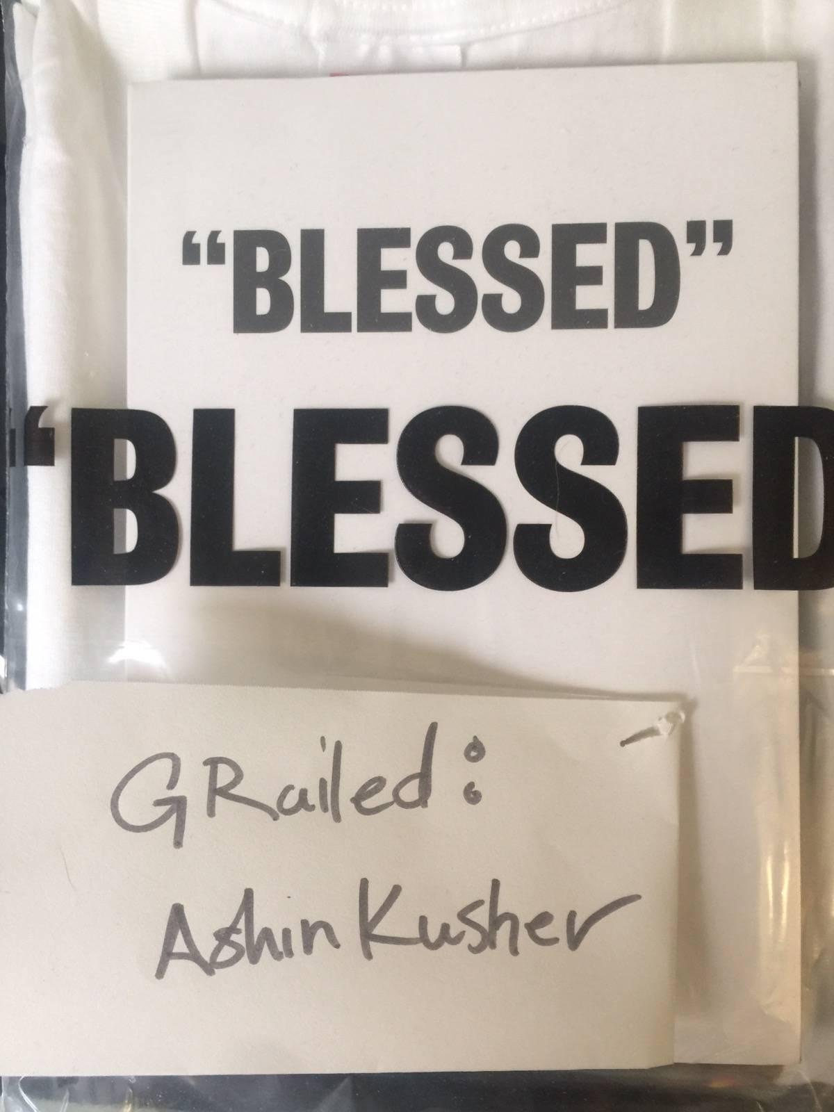 24891b6625ad Supreme Supreme Blessed Bundle Tee+dvd | Grailed