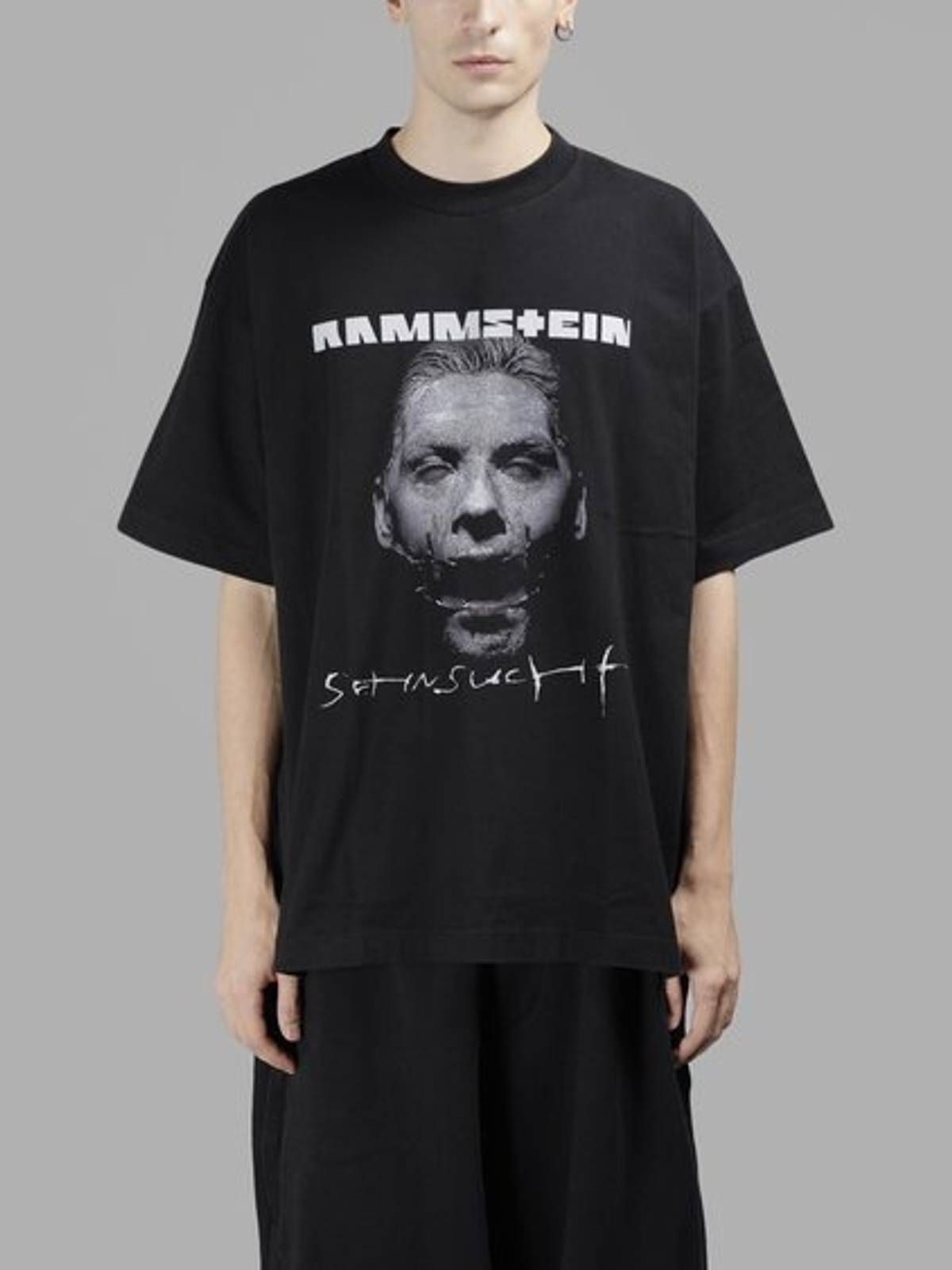 vetements rammstein metal t shirt size m short sleeve t shirts for sale grailed. Black Bedroom Furniture Sets. Home Design Ideas