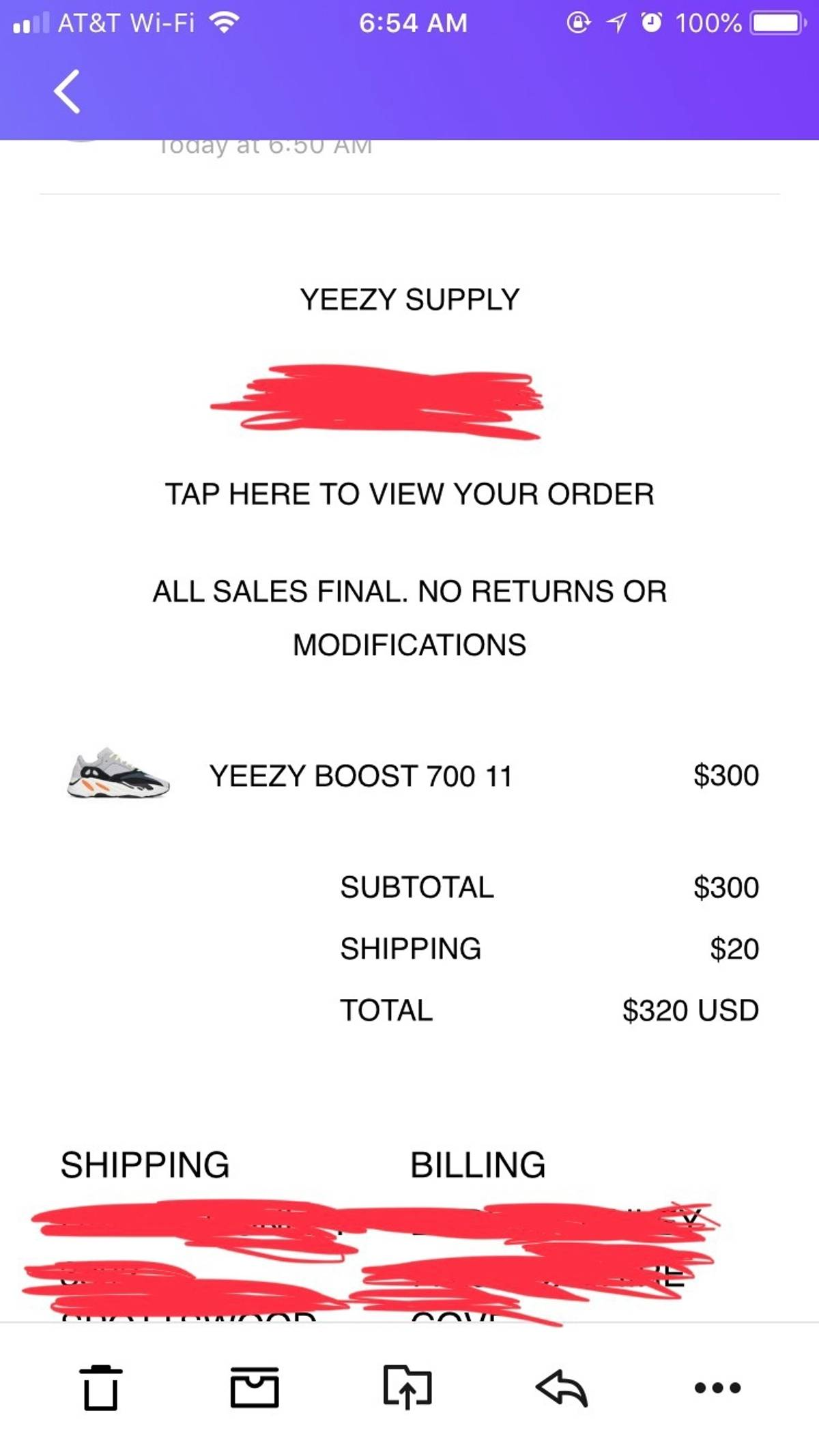 the latest 1ce80 10408 Adidas Yeezy Boost 700 Wave Runner Sz 11 Grey/ Multi Size 11 $364