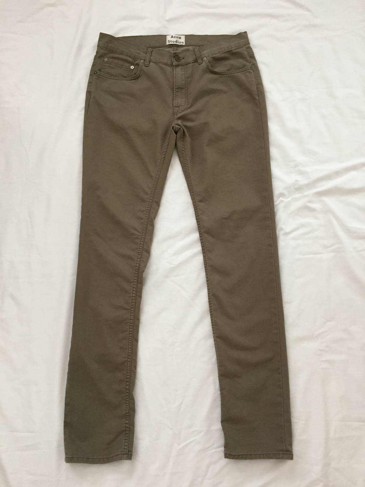Acne Studios Ace Ups Aloe Size 36 - Casual Pants for Sale