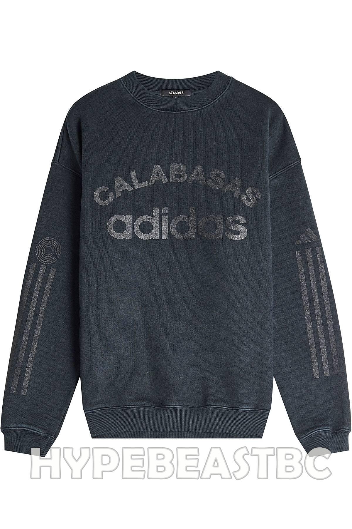 b0a80e4a9 Adidas × Adidas Kanye West × Yeezy Season ×. YEEZY Calabasas Adidas Sweatshirt  Season 5 Cotton Sweater ...